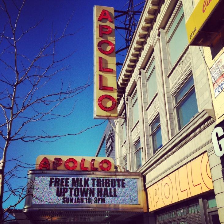 Apollo Theater in historic Harlem